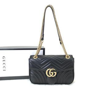 Gucci Marmont %100 genuine leather
